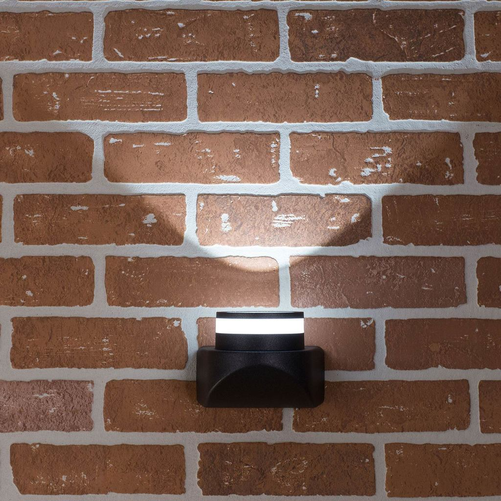 Настенный светодиодный светильник Citilux CLU0004, CLU0005 CLU0004, IP54, LED 8W 4000K 530lm, черный, металл - фото 6