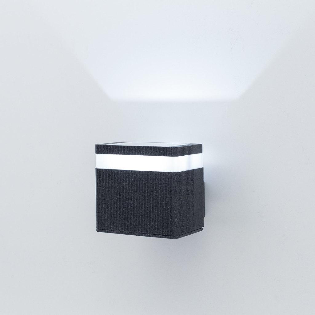 Настенный светодиодный светильник Citilux CLU0004, CLU0005 CLU0005, IP54, LED 6W 4000K 450lm, черный, металл - фото 1