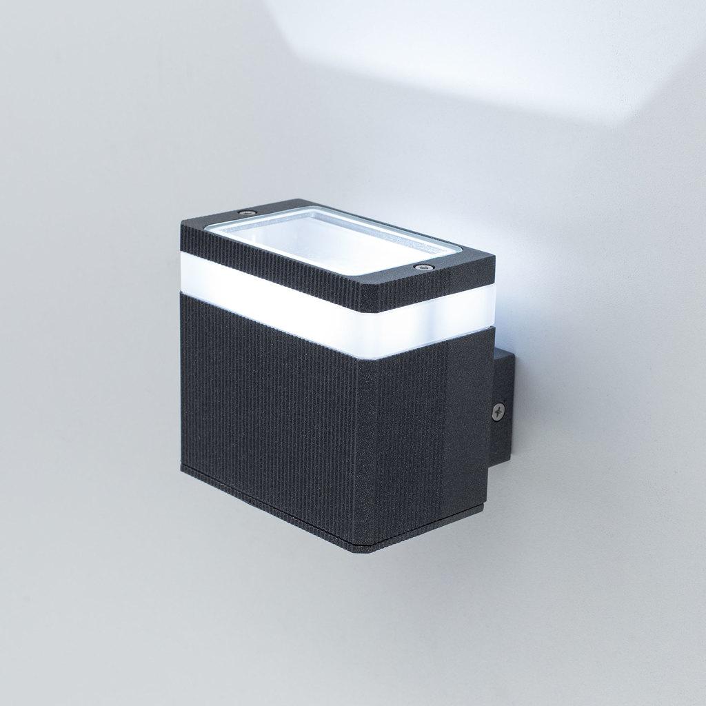 Настенный светодиодный светильник Citilux CLU0004, CLU0005 CLU0005, IP54, LED 6W 4000K 450lm, черный, металл - фото 2