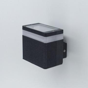 Настенный светодиодный светильник Citilux CLU0004, CLU0005 CLU0005, IP54, LED 6W 4000K 450lm, черный, металл - миниатюра 3