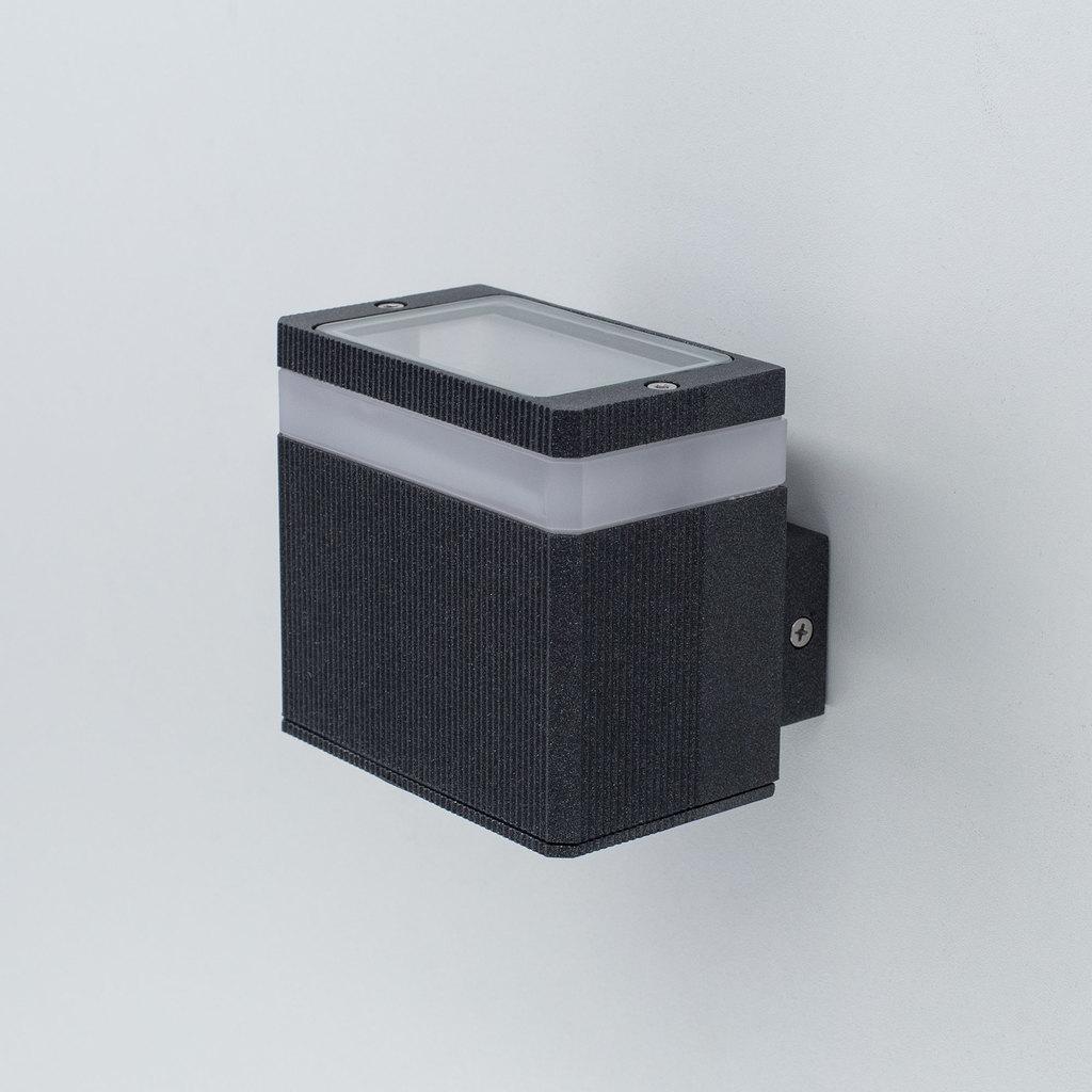 Настенный светодиодный светильник Citilux CLU0004, CLU0005 CLU0005, IP54, LED 6W 4000K 450lm, черный, металл - фото 3