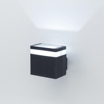 Настенный светодиодный светильник Citilux CLU0004, CLU0005 CLU0005, IP54, LED 6W 4000K 450lm, черный, металл - миниатюра 4
