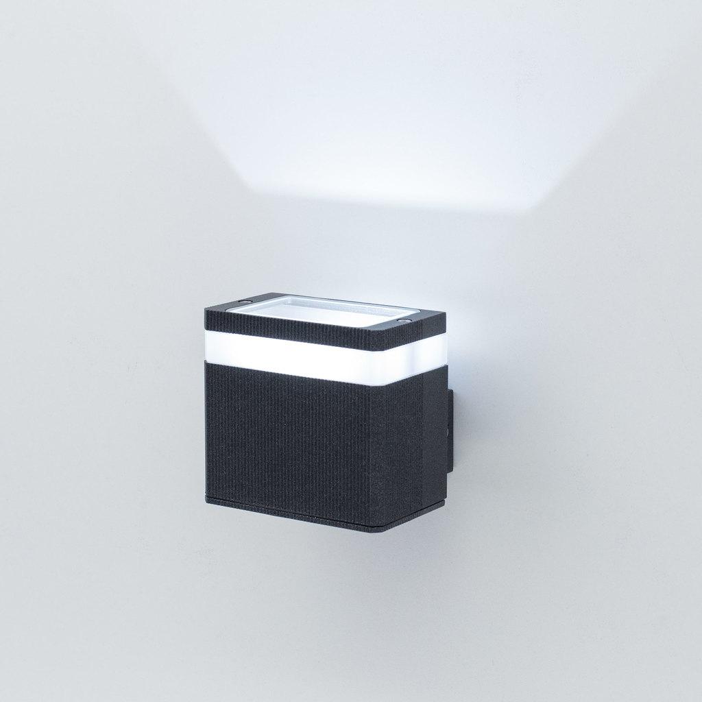 Настенный светодиодный светильник Citilux CLU0004, CLU0005 CLU0005, IP54, LED 6W 4000K 450lm, черный, металл - фото 4