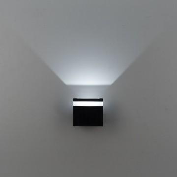 Настенный светодиодный светильник Citilux CLU0004, CLU0005 CLU0005, IP54, LED 6W 4000K 450lm, черный, металл - миниатюра 5