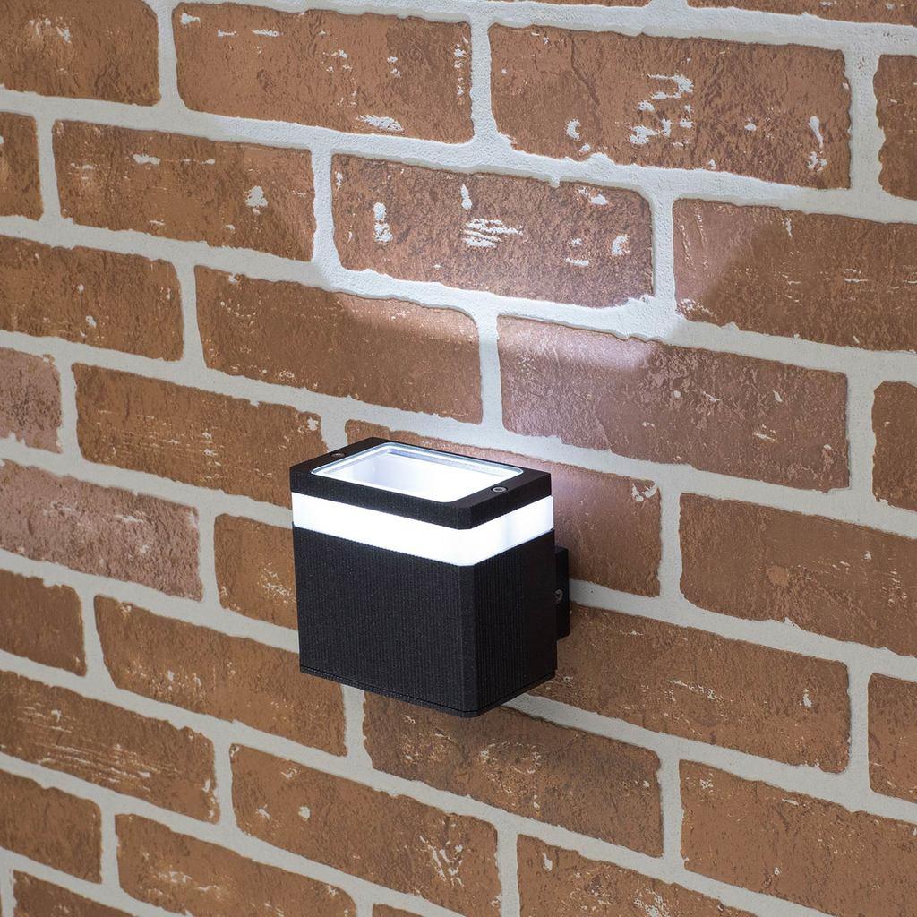 Настенный светодиодный светильник Citilux CLU0004, CLU0005 CLU0005, IP54, LED 6W 4000K 450lm, черный, металл - фото 6