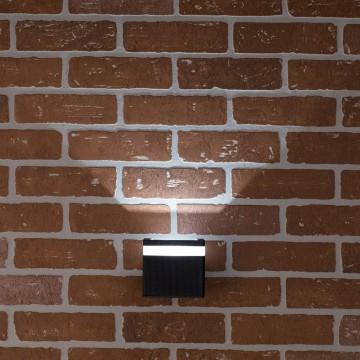 Настенный светодиодный светильник Citilux CLU0004, CLU0005 CLU0005, IP54, LED 6W 4000K 450lm, черный, металл - миниатюра 7