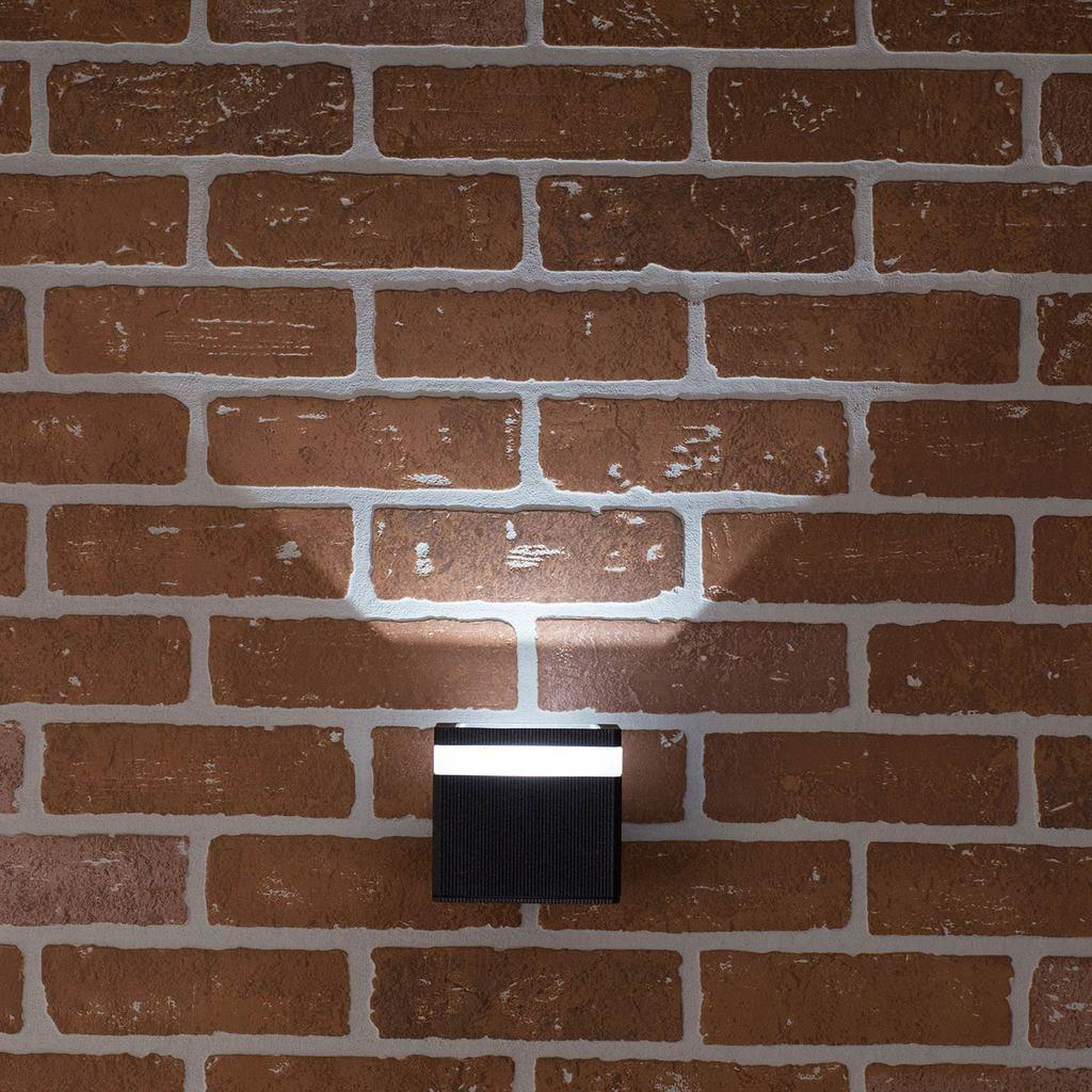 Настенный светодиодный светильник Citilux CLU0004, CLU0005 CLU0005, IP54, LED 6W 4000K 450lm, черный, металл - фото 7