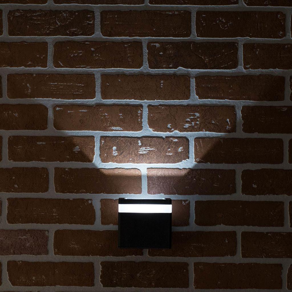 Настенный светодиодный светильник Citilux CLU0004, CLU0005 CLU0005, IP54, LED 6W 4000K 450lm, черный, металл - фото 8