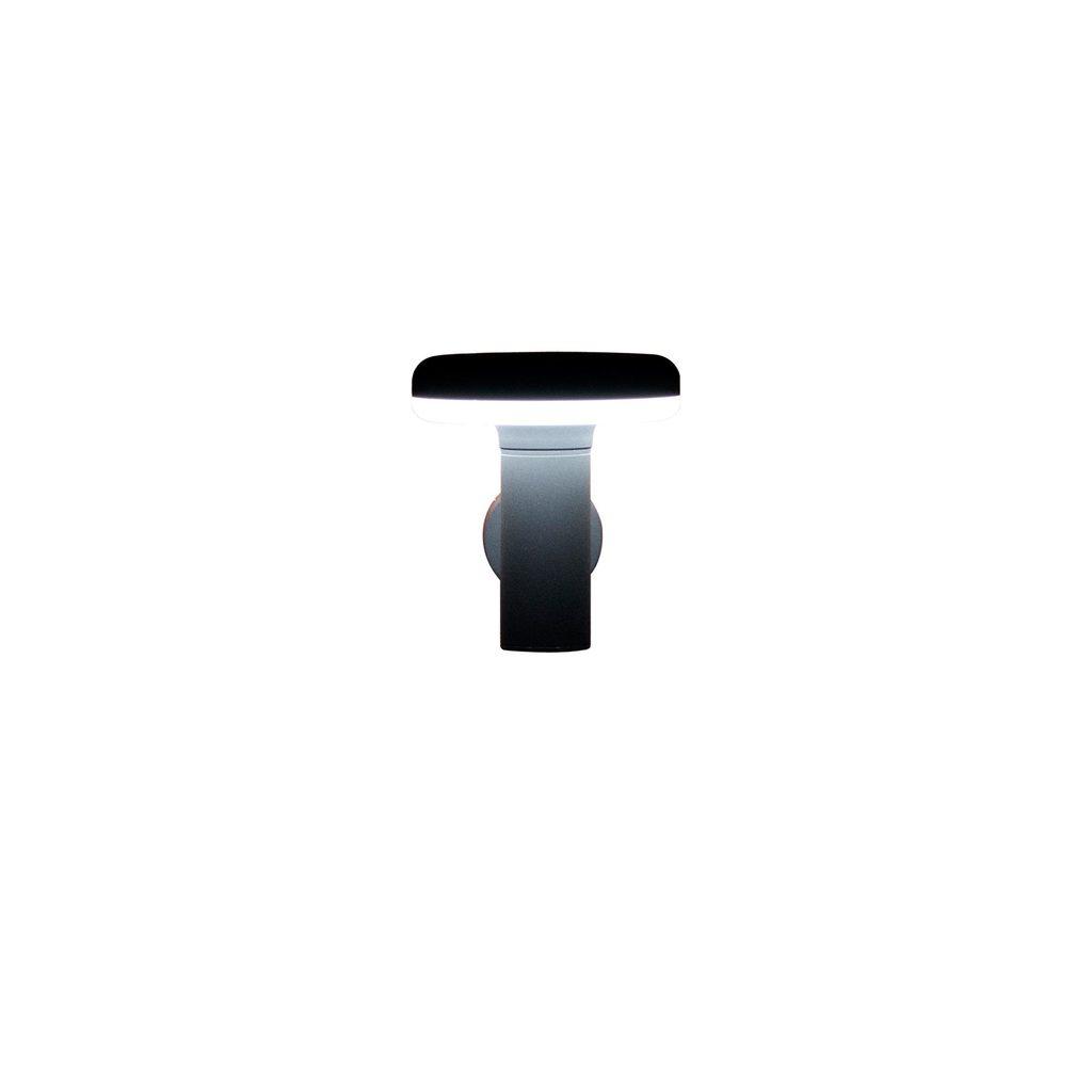 Настенный светодиодный светильник Citilux CLU01W, IP54, LED 6W 4000K 450lm, черный, металл, металл с пластиком - фото 1