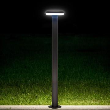 Садово-парковый светодиодный светильник Citilux CLU01B, IP54, LED 6W 4000K 450lm, черный, металл - миниатюра 2