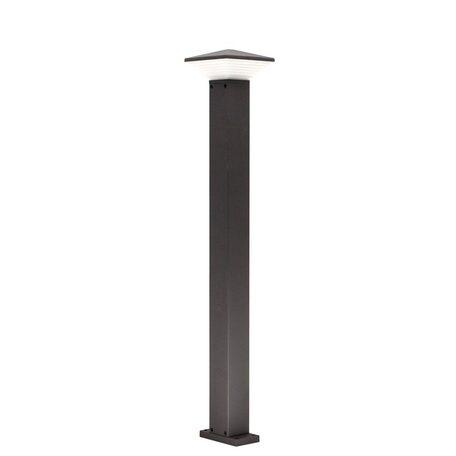 Садово-парковый светодиодный светильник Citilux CLU02B, IP54, LED 6W 4000K 450lm, черный, металл, металл со стеклом/пластиком