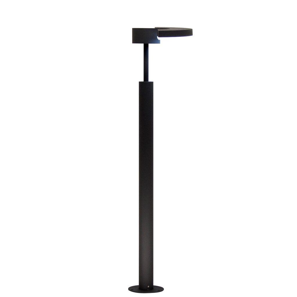 Садово-парковый светодиодный светильник с регулировкой направления света Citilux CLU03B1, IP54, LED 6W 4000K 450lm, черный, металл - фото 1