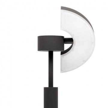 Садово-парковый светодиодный светильник с регулировкой направления света Citilux CLU03B1, IP54, LED 6W 4000K 450lm, черный, металл - миниатюра 2