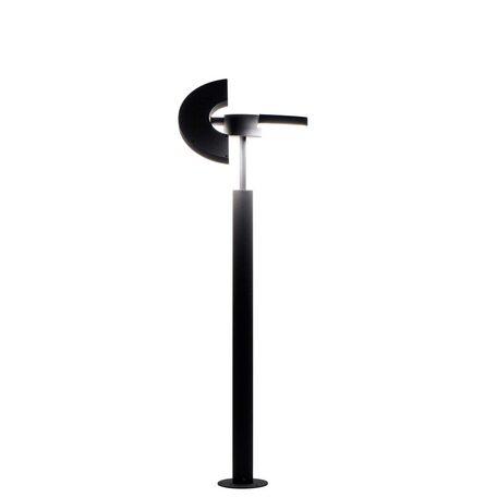 Садово-парковый светодиодный светильник с регулировкой направления света Citilux CLU03B2, IP54, LED 12W 4000K 800lm, черный, металл