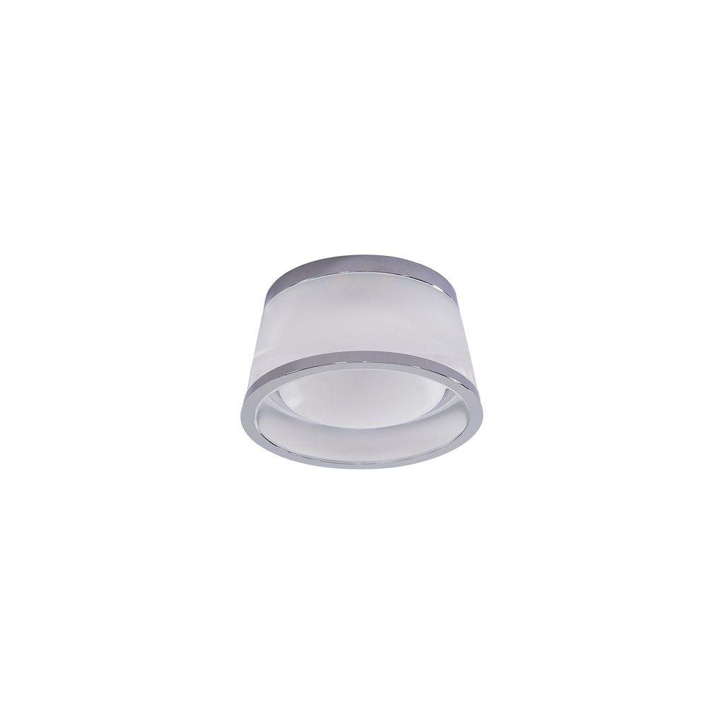 Встраиваемый светодиодный светильник Citilux Сигма CLD003S1, LED 5W 3000K 325lm, хром, белый, металл, стекло - фото 1