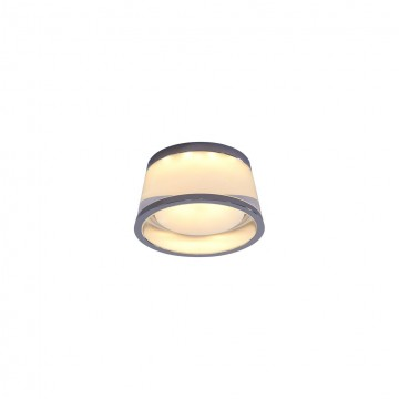 Встраиваемый светодиодный светильник Citilux Сигма CLD003S1, LED 5W 3000K 325lm, хром, белый, металл, стекло - миниатюра 3
