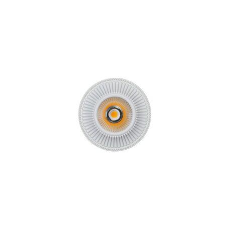Встраиваемый светодиодный светильник Citilux Дзета CLD042W0, LED 7W 3000K 550lm, белый, металл