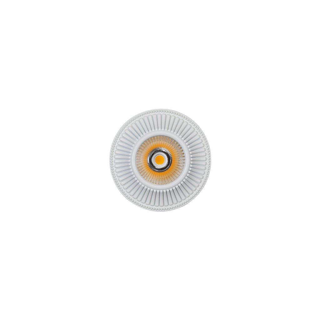 Встраиваемый светодиодный светильник Citilux Дзета CLD042W0, LED 7W 3000K 550lm, белый, металл - фото 1