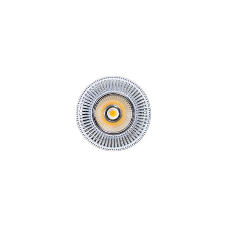 Встраиваемый светодиодный светильник Citilux Дзета CLD042W1, LED 7W 3000K 550lm, хром, металл