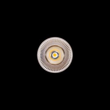 Встраиваемый светодиодный светильник Citilux Дзета CLD042W2, LED 7W 3000K 550lm, золото, металл - миниатюра 2