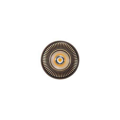 Встраиваемый светодиодный светильник Citilux Дзета CLD042W3, LED 7W 3000K 550lm, бронза, металл