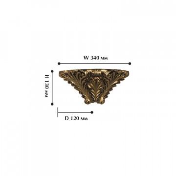 Схема с размерами Favourite 1325-1W
