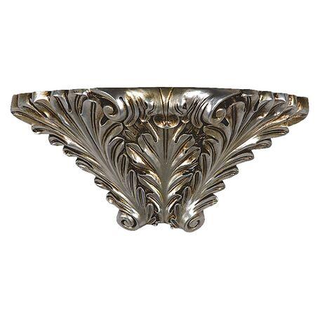 Бра Favourite Cornisa 1326-1W, 1xE14x40W, черненое серебро, гипс