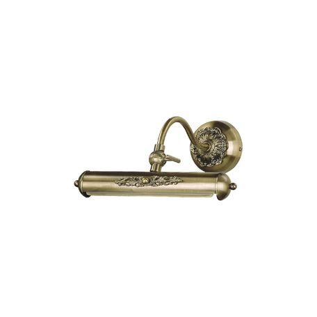 Настенный светильник для подсветки картин Favourite Picturion 1 1155-1W, 1xE14x25W, бронза, металл