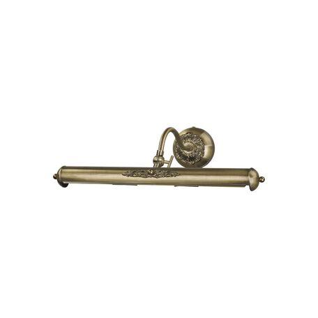 Настенный светильник для подсветки картин Favourite Picturion 1 1155-2W, 2xE14x25W, бронза, металл
