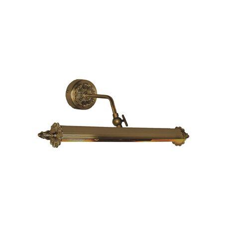 Настенный светильник для подсветки картин Favourite Picturion 2 1260-2W, 2xE14x25W, бронза, металл