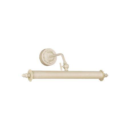 Настенный светильник для подсветки картин Favourite Picturion 2 1261-2W, 2xE14x25W, белый, металл