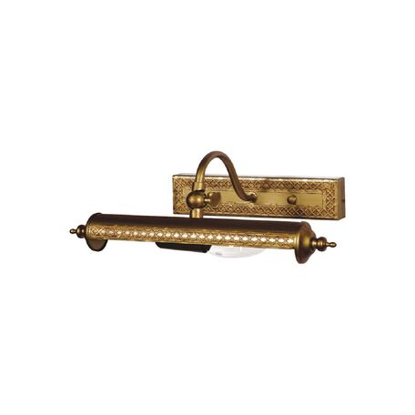 Настенный светильник для подсветки картин Favourite Picturion 6 1287-1W, 1xE14x40W, коричневый, металл