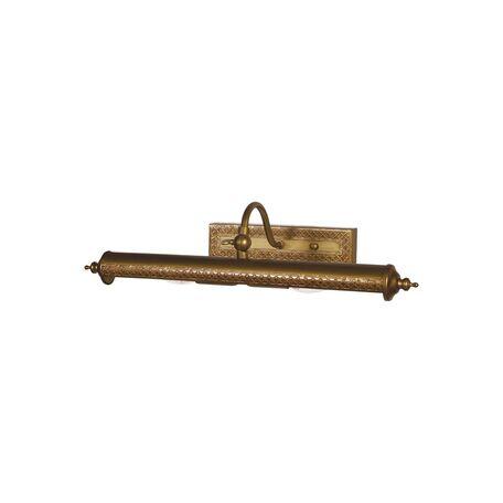 Настенный светильник для подсветки картин Favourite Picturion 6 1287-2W, 2xE14x40W, коричневый, металл