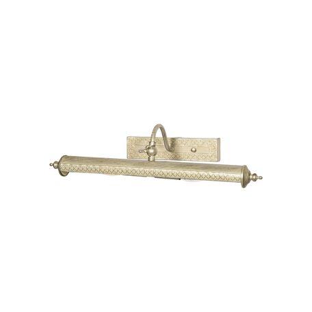 Настенный светильник для подсветки картин Favourite Picturion 6 1288-2W, 2xE14x40W, белый с золотой патиной, металл