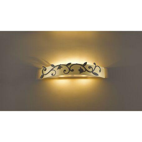 Настенный светильник Favourite Florina 1465-3W, 3xG9x40W, матовое золото, металл, стекло