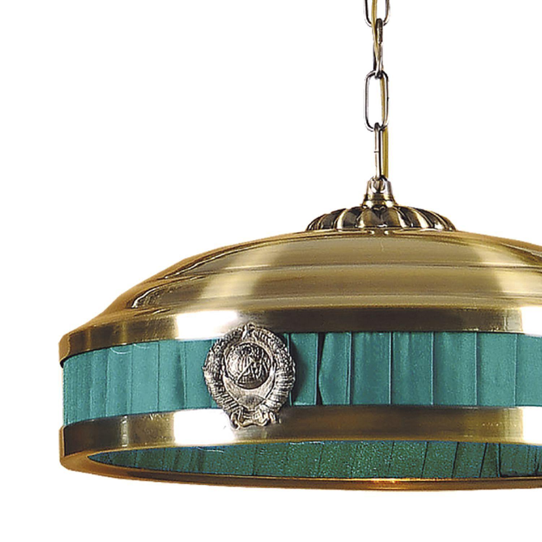 Подвесной светильник Favourite Kremlin 1274-3P1, 3xE14x40W, бронза, зеленый, металл - фото 3