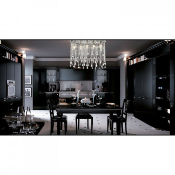 Потолочная люстра Favourite Rain 1692-5C, 5xE14x40W, хром, прозрачный, металл, хрусталь - миниатюра 2