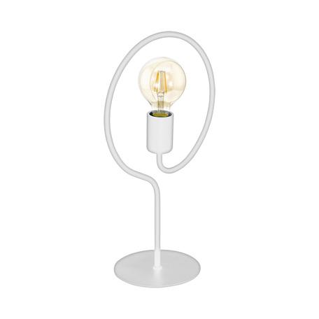 Настольная лампа Eglo Cottingham 43012, 1xE27x40W, белый, металл