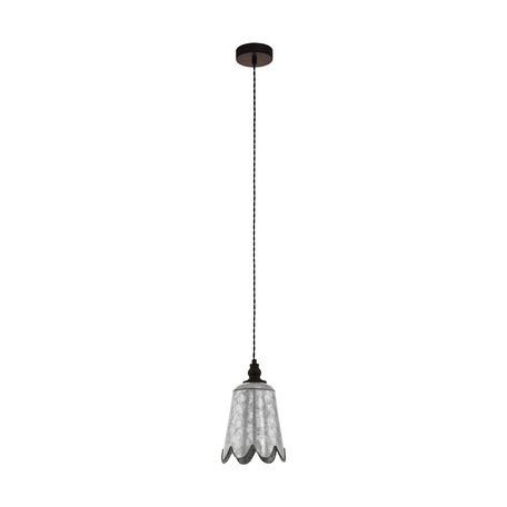 Подвесной светильник Eglo Karhold 43097, 1xE27x60W, коричневый, сталь, металл