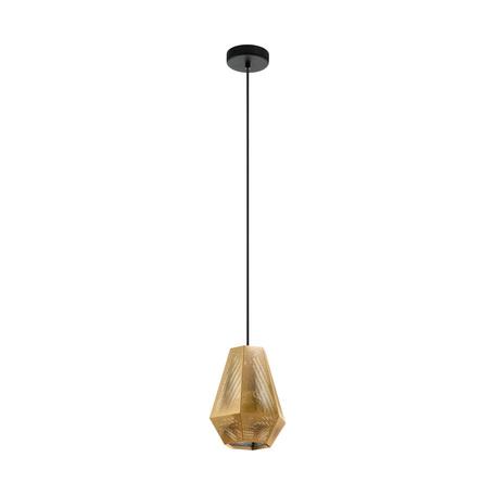 Подвесной светильник Eglo Chiavica 1 43226, 1xE27x28W, золото, металл