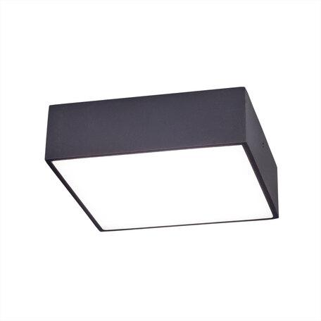 Потолочный светодиодный светильник Citilux Тао CL712K122, белый, черный, металл, пластик