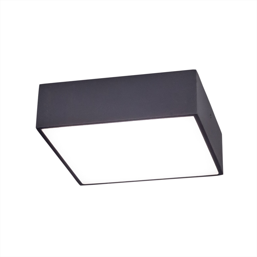 Потолочный светодиодный светильник Citilux Тао CL712K122, белый, черный, металл, пластик - фото 1