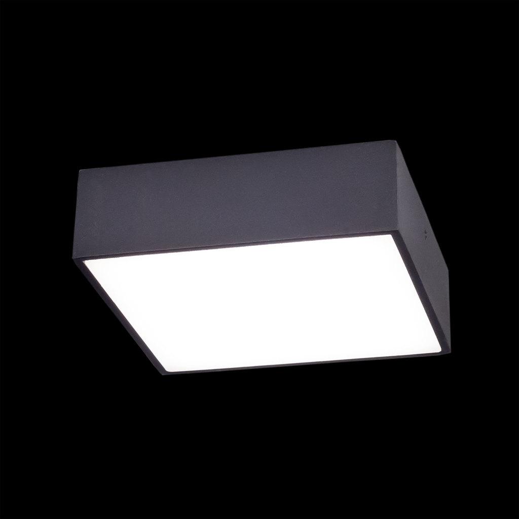 Потолочный светодиодный светильник Citilux Тао CL712K122, белый, черный, металл, пластик - фото 2