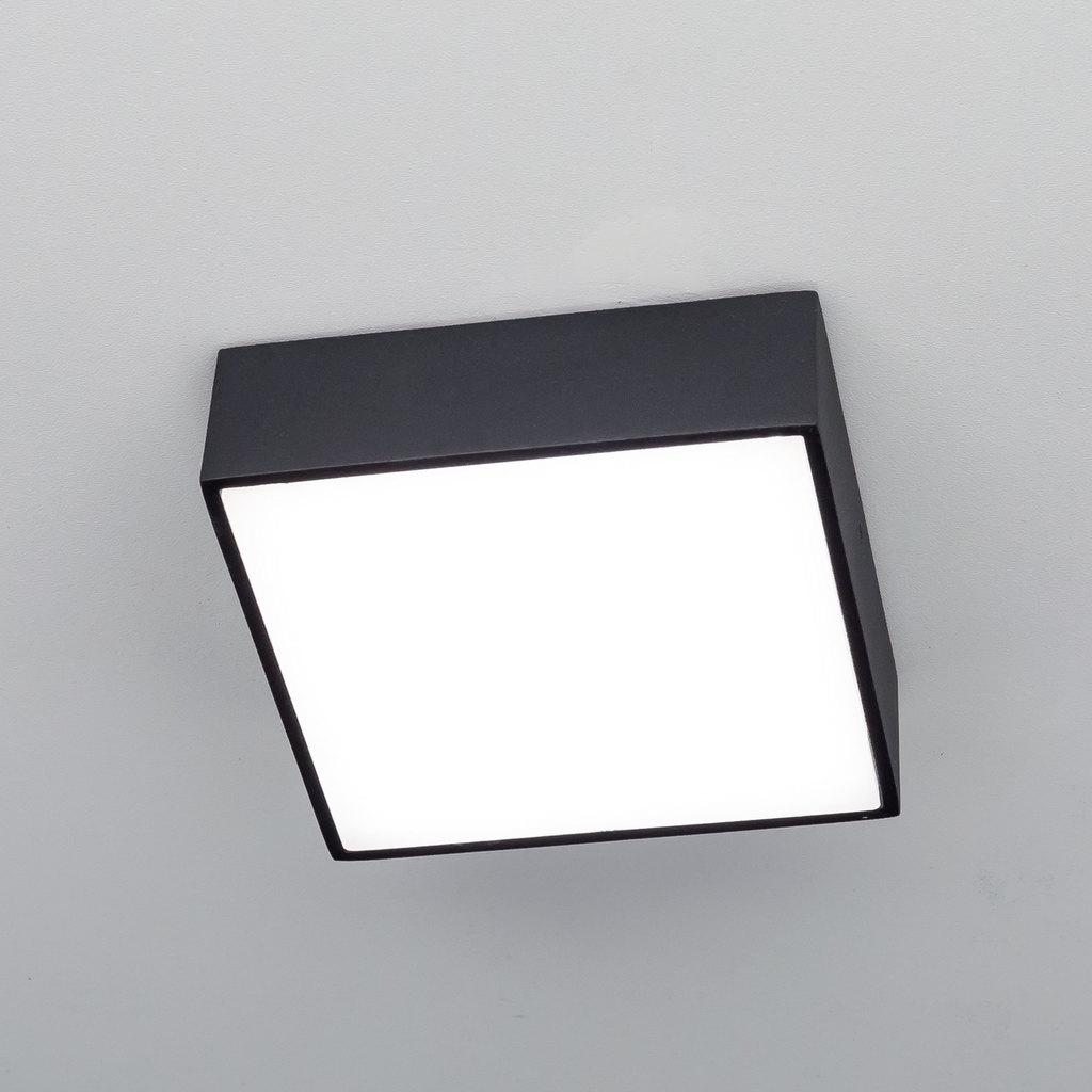 Потолочный светодиодный светильник Citilux Тао CL712K122, белый, черный, металл, пластик - фото 3