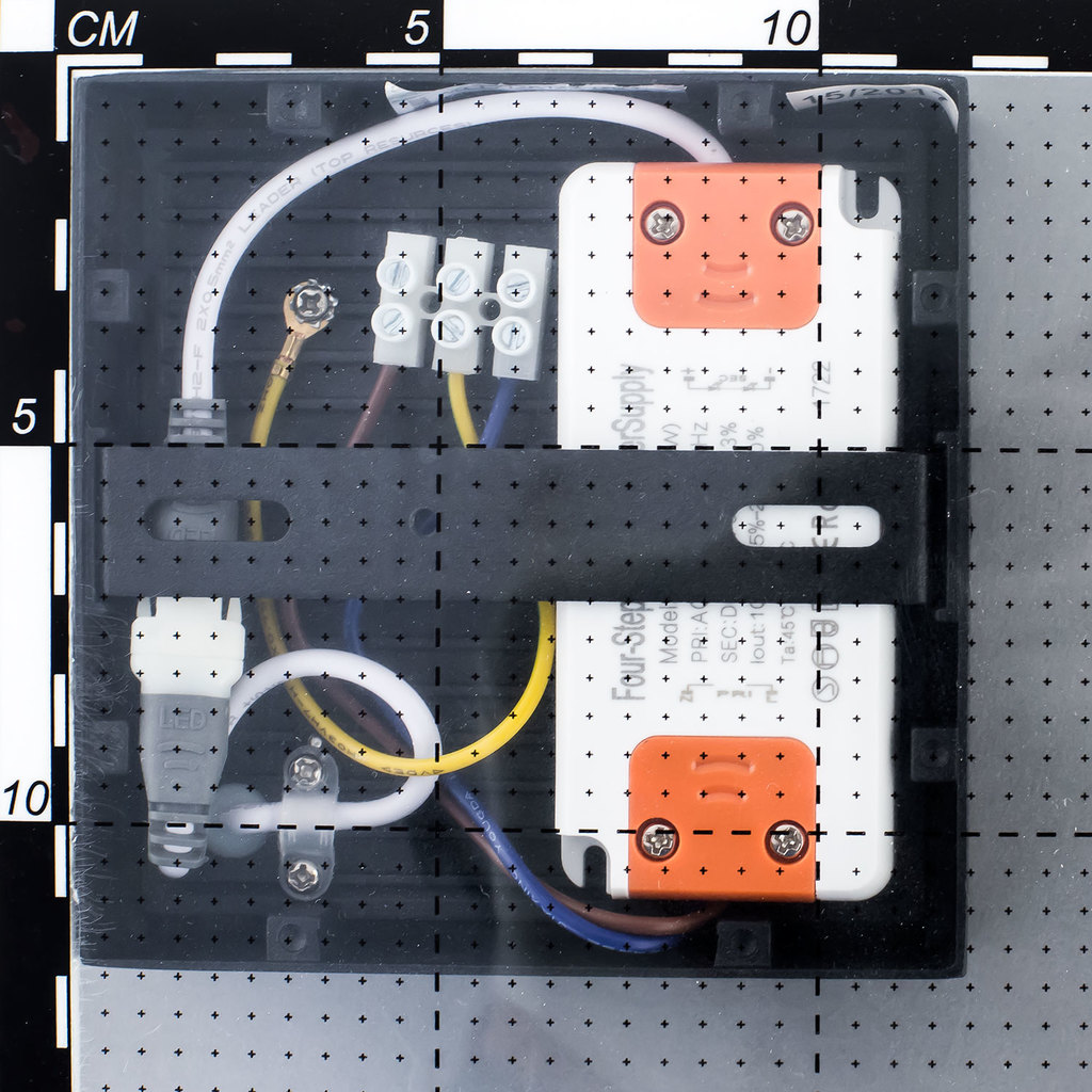 Потолочный светодиодный светильник Citilux Тао CL712K122, белый, черный, металл, пластик - фото 5