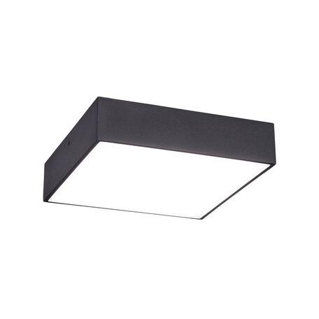 Потолочный светодиодный светильник Citilux Тао CL712K182, LED 18W 3000K 1350lm, черный, черно-белый, металл с пластиком
