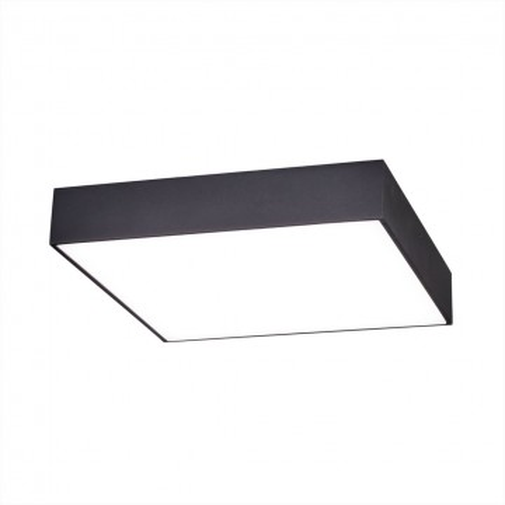 Потолочный светодиодный светильник Citilux Тао CL712K242, белый, черный, металл, пластик