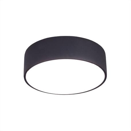 Потолочный светодиодный светильник Citilux Тао CL712R122, белый, черный, металл, пластик
