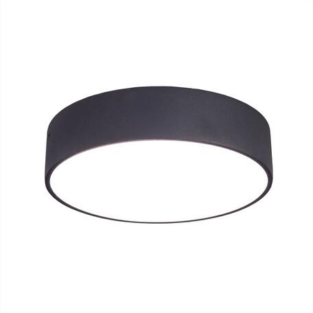 Потолочный светодиодный светильник Citilux Тао CL712R182, белый, черный, металл, пластик