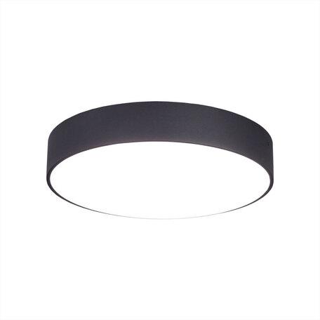Потолочный светодиодный светильник Citilux Тао CL712R242, LED 24W, 3000K (теплый), белый, черный, металл, пластик